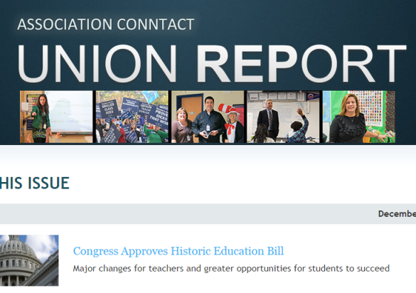 CEA Association Conntact   Union Report   December 2015.png