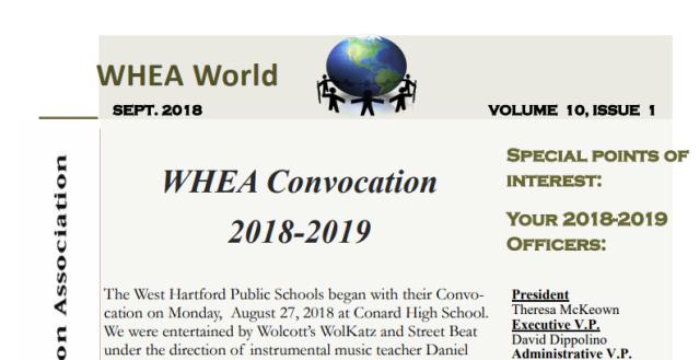 whea vol 10 issue